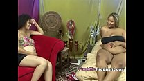 Pregnant Ebony Goddesses Fingering Each Other Until Orgeing-Extremely-Horny-Hi-1