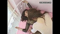 Asian Teen Lesbian Duo on Extreme Ramming