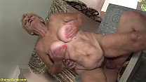 hairy 89 years old granny rough fucked image