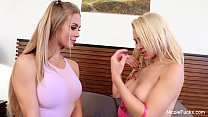 Screenshot Nicole Anist on & Alix Lynx Threesome