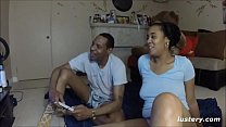 Playful Couple Enjoy Strip Mario Bros