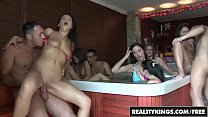 Euro Sex Partiy by the pool - Reality Kings