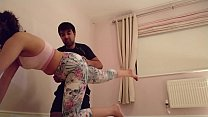 Teen tricked into getting naked for personal trainer and sucking his cock POV Indian Vorschaubild