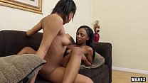 Hot Black Lesbians Sure Do Know How to Please E... thumb