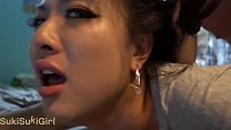 @Andregotbars beautiful Chinese Wife MOANING wi...