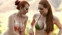Redhead lesbians at Mommy's Girls thumbnail