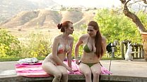 Redhead lesbians at Mommy's Girls preview image