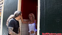 Petite redlight hooker fucks a fat tourist