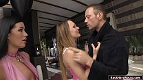 2 hungarian babes analed by Roccos dick
