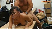 Big tits babe railed by pervert pawn man Thumbnail