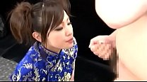 Free download video bokep Japenese Chinese dress facial
