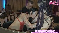 german mother and her step daughter fucks threesome in disco ffm
