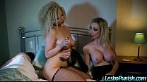 Hard Play In Punish Act With Hot And Mean Lez Girls (aruba&chessie) movie-10