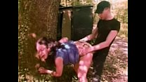 hitchhiker fucked in a forest