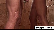 Erotic soapy massage with Happy Ending 25 pornhub video
