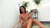 Monster Dildo Fucking By Fitness Girl