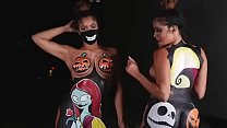 Halloween Spoof With Models Thebrookstwins