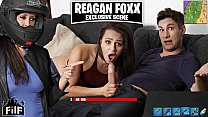 FILF - Stepmom Reagan Foxx Steals Stepson's Cock From His Girlfriend