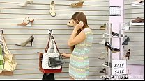 Daughter Fuc ked In Shoe Store
