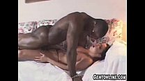 Gina Ryder Takes Black Cum On Tits