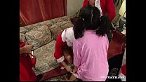 "Santa ""Gangbang"" Claus with Nathalie pornhub video"
