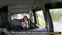 8598 Pretty Alessa tempts the taxicab driver to have a great time preview