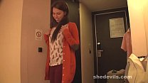 Russian amateur teen from She Devils Eva banged silly