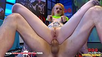 Azura Alii redhead knows to swallow cum germang...