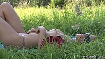 His gf cheating with old man in the fields />                             <span class=