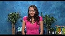Naked babe Janice Griffith performed shlong jerking in style