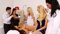 Kinky Orgy with Nurses Fucking Doctors and Pati...