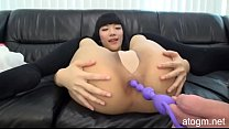 Uncensored! No Mosaic! Small Super Hot Japanese Girl Gets Her Asshole Fucked With Anal Bead Toy! (#4 Part 3) (atogm.net)