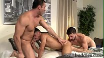 Well hung twink spunked