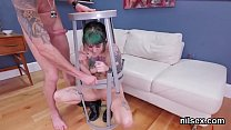 Foxy chick is brought in anal hole nuthouse for uninhibited therapy