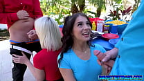 Sabrina Snow and Sofie Reyez want some meat in their mouths