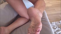 Kellenzinha eagerly awaits her uncle's visit - real amateur cuckold and slut - complete on red