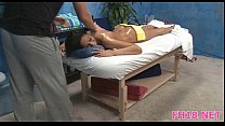 Watch as these cute 18 year old girls get a surprise happy ending [마사지 마무리 Happy Ending massage]