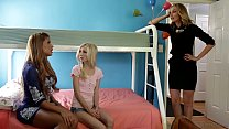 New family member joins to lesbian Moms # Mercedes Carrera, Piper Perri and Mona Wales thumbnail