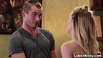 Young Girl Tricked Her Boyfriend Into A Threesome - Kate Kennedy and Sophia Lux - 9Club.Top