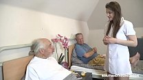 Download video bokep Time for your pill, Grandpa! 3gp terbaru