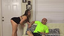 Milf Madisin Lee Fucks Step Son for his 18th Bi...