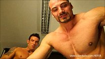 DOMINANT GUYS, SOLDIER AND COP TRAMPLES AND BEATS SLAVE - 132