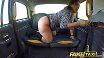 Fake Taxi Big sexy Spanish ass bounces as tight pussy fucked in cab صورة