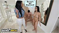 BANGBROS - Ada Sanchez Has Threesome With Her B... Thumbnail