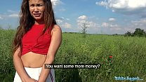 16275 Public Agent Sexy Spanish beauty fucked in a field for cash preview