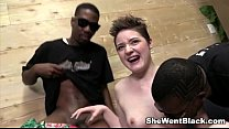 Sweet Emma Snow Pounded by Black Cocks preview image