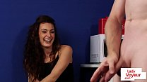 12461 CFNM housewife instructs guy to jerkoff preview