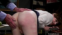 Shemale Schoolgirl Spanked And Fucked