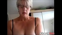 Milf doing a handjob to her husban - 9Club.Top