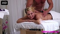Busty MILF Gets Fucked During Massage - 18sexcams.net preview image